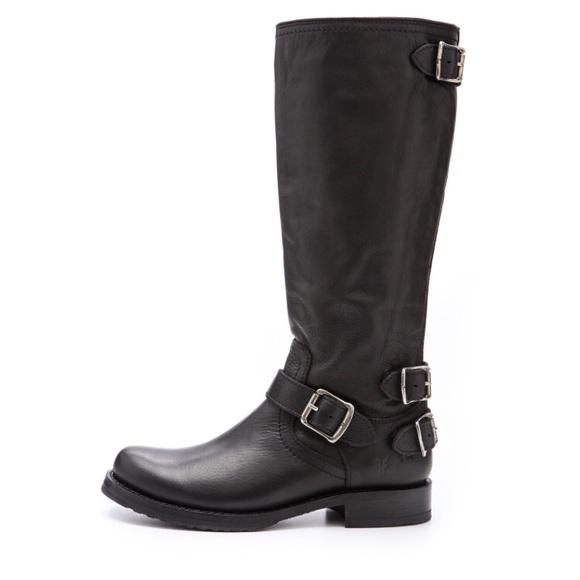 Frye Shoes - Frye Veronica Back Zip Boots
